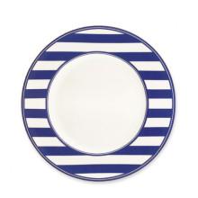 Beach Towel Stripe Blue Dinnerware | Gracious Style