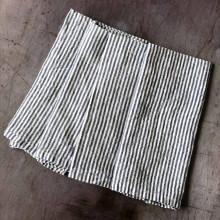 Blue & White Newport Stripe Linen/Cotton Blend Napkins - Set of Four | Gracious Style