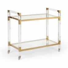 Acrylic Bar Cart