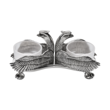 Malmaison Silverplated Double Salt & Pepper Shakers | Gracious Style