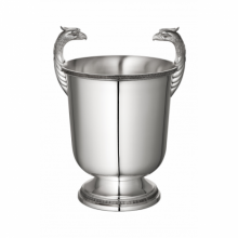Malmaison Silverplated Champagne Cooler for Two Bottles | Gracious Style