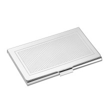 Madison 6 Silver Plated Business Card Holder | Gracious Style