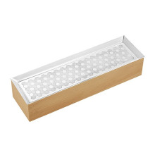 Madison 6 Silver Plated And Beech Wood Pen Holder Box | Gracious Style