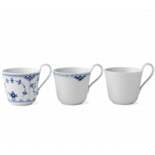 Gifts With History Laced Mugs 11 Oz S/3 | Gracious Style
