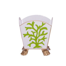 """Green Coral 5"""" Cachepot Small 