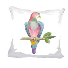 "Multi Parrot 18"" x 18"" Pillow | Gracious Style"