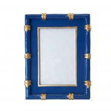 """Bamboo Navy 4"""" x 6"""" Picture Frame 