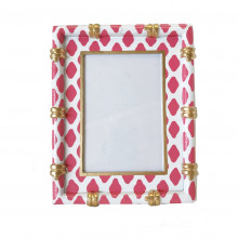 """Bamboo Parsi Pink 4"""" x 6"""" Picture Frame 