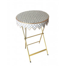 Glenbrook Table Parsi Grey | Gracious Style
