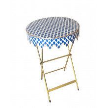 Glenbrook Table Navy Parsi | Gracious Style