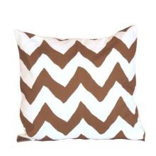 "Brown Bargello 22"" Square Pillow | Gracious Style"