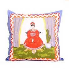 "Empress Blue 24"" Square Pillow | Gracious Style"
