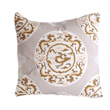 "Grey Dragon 22"" Square Pillow | Gracious Style"