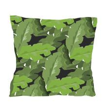 "Palm Leaf 22"" Square Pillow | Gracious Style"