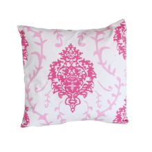 """Pink Venetto 22"""" Square Pillow 