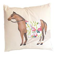 "Show Horse Chintz 22"" Square Pillow | Gracious Style"