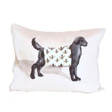 "Black Dog 18"" x 22"" Pillow | Gracious Style"