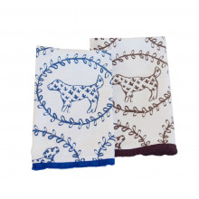 Brown Dog Tea Towel | Gracious Style