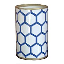 Blue Mesh Pen Cup | Gracious Style