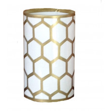 Gold Mesh Pen Cup | Gracious Style
