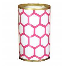 Pink Mesh Pen Cup | Gracious Style
