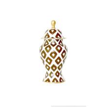 Brown Baratta Ginger Jar Small | Gracious Style