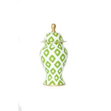 Green Baratta Ginger Jar Small | Gracious Style