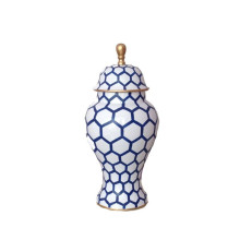 Blue Mesh Ginger Jar Small | Gracious Style
