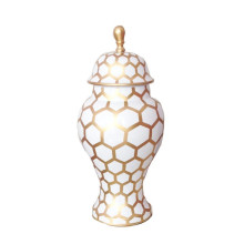 Gold Mesh Ginger Jar Small | Gracious Style