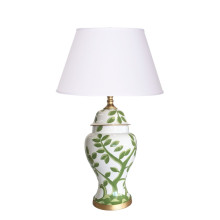 Cliveden Green Ginger Jar Table Lamp | Gracious Style
