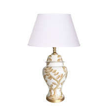 Cliveden Taupe Ginger Jar Table Lamp | Gracious Style