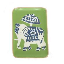 "Elephant 9"" x 6"" Tray | Gracious Style"