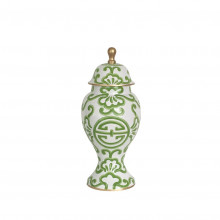 Green Sultan Ginger Jar Medium | Gracious Style