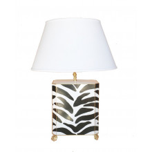 Black Zebra Table Lamp | Gracious Style