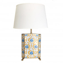 Beaufont Yellow and Blue Table Lamp | Gracious Style