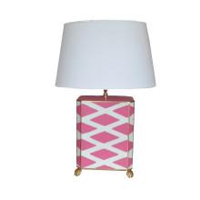Pink Parthenon Table Lamp | Gracious Style