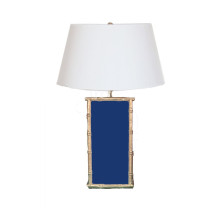 Bamboo Navy Table Lamp | Gracious Style