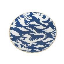"Blue Dragon 11"" Round Bowl, Medium | Gracious Style"