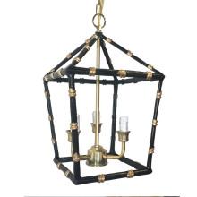 "Black Bamboo 13"" Lantern, Small | Gracious Style"