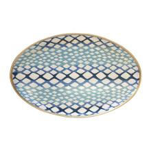 "Python Blue 13"" x 19"" Oval Platter | Gracious Style"