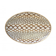 """Python Natural 13"""" x 19"""" Oval Platter 