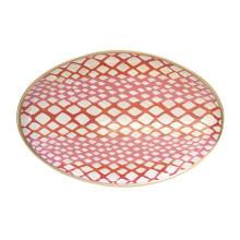 "Python Pink 13"" x 19"" Oval Platter | Gracious Style"