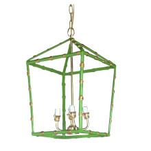 "Green Bamboo 20"" Lantern Large | Gracious Style"