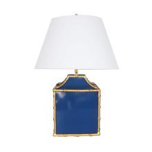 Pagoda Navy Lamp | Gracious Style