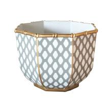 "Parsi Grey Bamboo 11"" Bowl Large | Gracious Style"