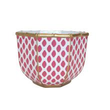 "Parsi Pink Bamboo 11"" Bowl Large | Gracious Style"