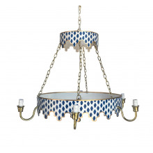 Parsi Navy Chandelier | Gracious Style