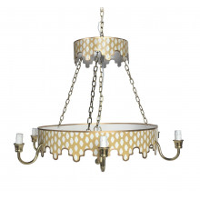 Parsi Taupe Chandelier | Gracious Style