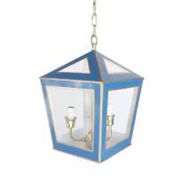 "Tucker 14"" Lantern Solid Navy | Gracious Style"