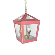 "Tucker 14"" Lantern Solid Pink | Gracious Style"